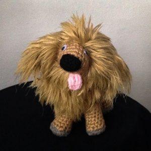 Pletená hračka Lev - Anna Mokrá | Hendikup