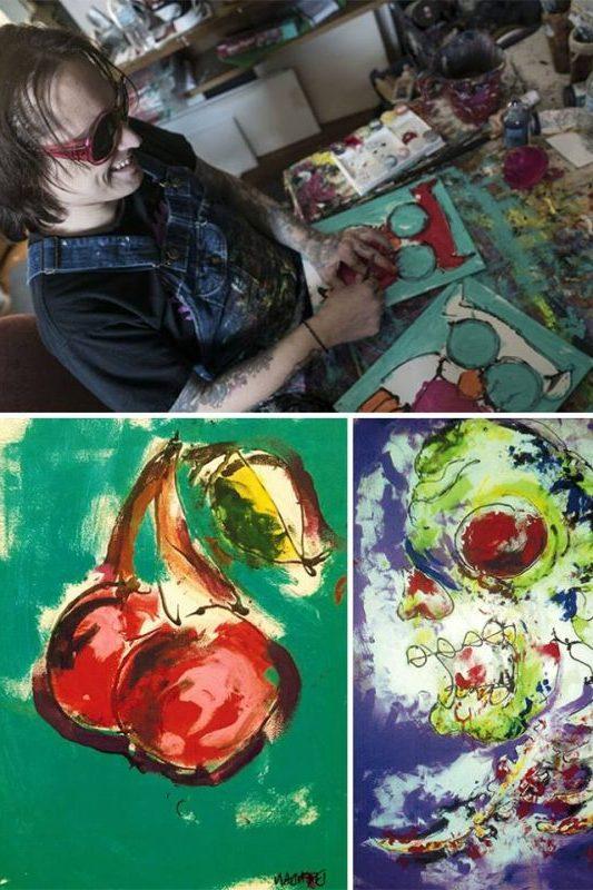 Brendan Patrick maľuje bez zraku | Hendikup