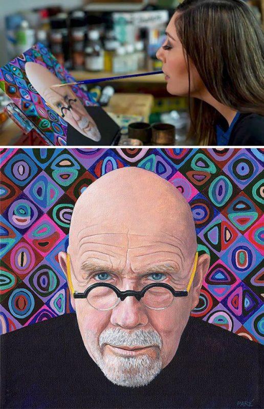 Mariam Paré maľuje ústami | hendikup