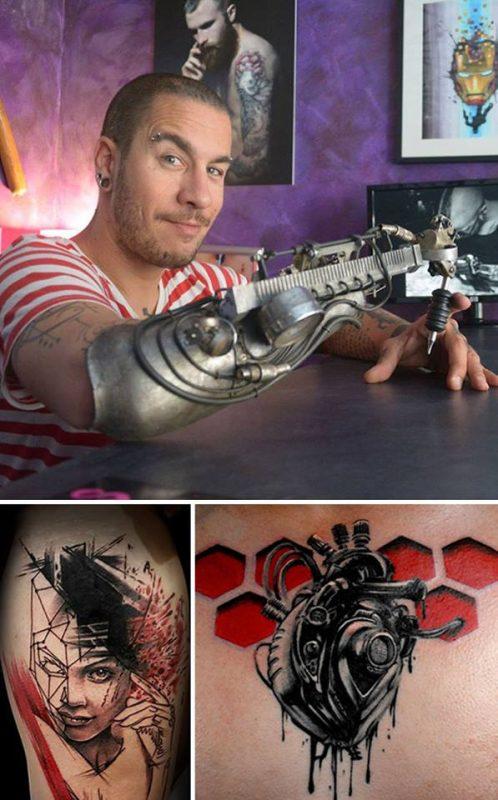 Umelecké tetovanie od zdravotne postihnutého | Hendikup
