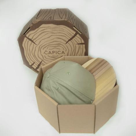 Zelená šiltovka s dreveným šiltom – santos palisander | Hendikup