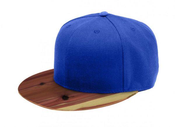 Modrá šiltovka s dreveným šiltom – Aromatic | Hendikup