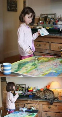 Dievča s autizmom maľuje - Iris Grace | Hendikup