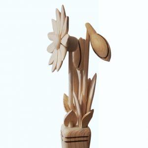 drevená-kytica